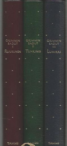Grimmin Sadut 1-3 boxi (Ruusunen, Tuhkimo, Lumikki)