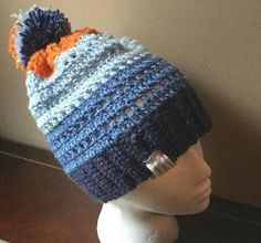 Denim Dreams Hat Free Crochet Patterns