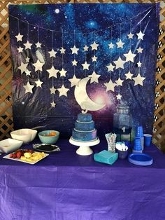 Best Birthday Party Ideas For Teens Sweet 16 Decorations 57 Ideas - Two the Moon party Themes, Ideas, Images Birthday Party For Teens, Sweet 16 Birthday, Birthday Party Decorations, Teen Birthday, Star Wars Party, Diy Party, Party Favors, Party Ideas, Party Games