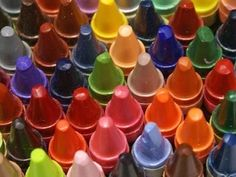 Use Crayons for Dry Erase Boards instead of markers which dry out