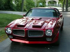 CLASSIC PONTIAC FIREBIRD I love these early 2nd Generation Firebirds & what true Muscle Car Guy or Girl doesn't love that hood. It's the best of both worlds, Ram Air up front & the Shaker in the center. Also, that's a beautiful color on this car.