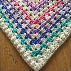 I've finally finished the granny square baby blanket  here's a little sneak peek  #crochet #grannysquares #babyblanket #madetoorder #handmade #craft #stylecraft #instacrochet #crochetuk by pinklimecrafts