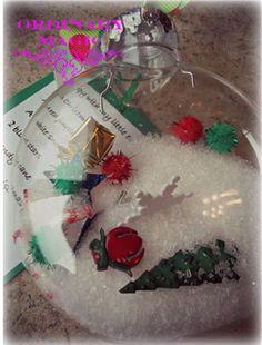 I Spy Christmas Ornaments! -- What a fun way to entertain the kiddos!