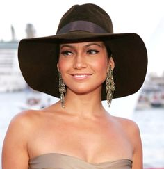 Truly JLo style #hat