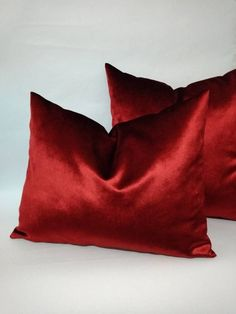 Luxury Red Pillow,