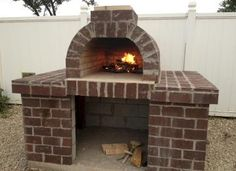 Ready to entertain 40 Hungry Buckeye Fans? This Wood Fired Pizza Oven was built using the Mattone Barile Grande foam form. You could fit a whole pig in this thing!