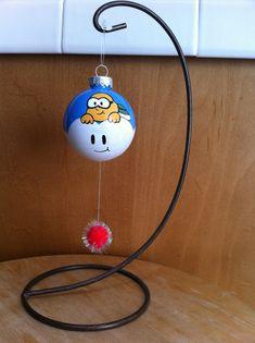 Mario Lakitu Ornament by ABitofImagination | Super Mario Brothers Nintendo NES