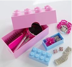 This little LEGO trinket box is perfect for little princesses or queens alike to store those glam accessories or precious bits and bobs...    http://www.aplaceforeverything.co.uk/home-storage/trinket-storage-box-lego?ret=41=lego=spin