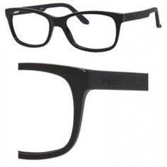 40808f48120 Carrera Carrera 6653 0KUN Black   Matte Black Eyeglasses