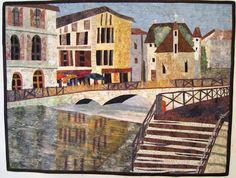 Barbara Strobel Lardon Art quilts: Landscapes