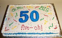 50th birthday cake for man | 50th birthday cake~ full sheet
