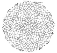 Free Crochet Doily Patterns, Crochet Circles, Crochet Motifs, Crochet Round, Crochet Chart, Thread Crochet, Crochet Doilies, Crochet Dreamcatcher Pattern, Dream Catcher Patterns