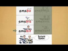 Latin Conjugation of Amo.mov - YouTube This looks awesome!