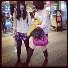 Shibuya 109 spring fashion trends 2012 courtesy of @loic bizel