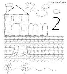 Развитие ребенка - #драйв-мама Math Writing, Preschool Writing, Kindergarten Math Worksheets, Alphabet Worksheets, Free Preschool, Writing Numbers, Preschool Printables, Preschool Activities, Motor Skills Activities