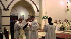 Deacon Roger Morgan and Deacon Richard Wilson were ordained into the transitional diaconate on Friday May 16, 2014 at St. Joseph Church in Columbia.