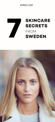 Swedish skincare secrets