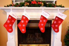Embroider Your Own Stockings Tutorial, Part 2
