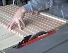 Cutting Beadboard On A Table Saw