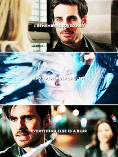 Season five, it's so painful watching Hook get hurt because Emma is the dark one. It hurts so much :(