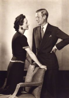 The Duke and Duchess of Windsor, june 1943 by Dorothy Wilding