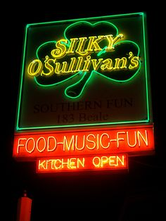 Silky Sullivan's on Beale St. You haven't properly been to Beale unless you've seen the goat, had a bucket, and listened to the dueling pianos!