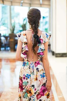 Latest Women Dresses Fashion Outfit Ideas For 2019 Summer Outfits, Summer Dresses, White Maxi Dresses, Girly Outfits, Outfit Trends, Outfit Ideas, Lovely Dresses, Dream Dress, Women's Fashion Dresses