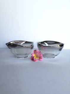 Dorothy Thorpe Mid Century Dipping Bowls Set by SandHollowVintage