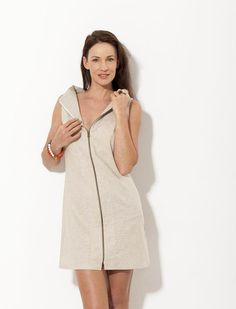 Party dress Khaki dress  Cotton dress  Linen dress  by natafashion
