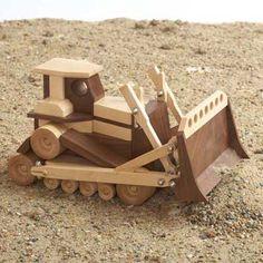 Construction-Grade Bulldozer Paper Plan