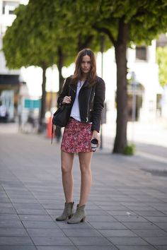 Caroline Blomst in Marant and Rika