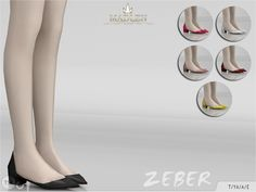 Women Shoes _ Ballet Flat shoes The Sims 4 _ - The Sims 4 Love Life Asia VietNam Sims 4 Mods Clothes, Sims 4 Clothing, Sims Mods, Sims 4 Curly Hair, Cc Fashion, Sims 4 Cc Shoes, Sims4 Clothes, Play Sims, Sims 4 Characters