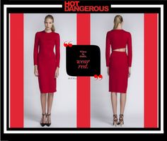 """Bill Blass - Hot and Dangerous"" by latoyacl ❤ liked on Polyvore"