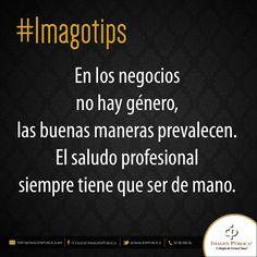 Recuerda que en los negocios no hay género. Te compartimos un #Imagotip de Alvaro Gordoa.