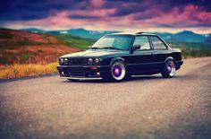 BMW 3 Series E30 325i Schwarz Autos