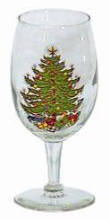 Original Christmas Tree Wine Goblet