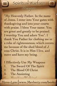 - Spiritual Warfare Prayer for Android screenshot