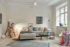 Molduras de techo en ambientes nórdicos. ¿Es posible? | Decorar tu casa es facilisimo.com