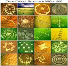 Crop circles.  Don't care who made them or why.  I think they're fascinating.