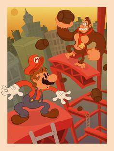 1920's Mario by Max Ray Frisbee