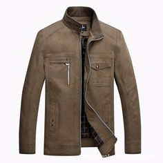 867968caf2f Aliexpress.com   Buy New 2015 Special Offer man jacket high quality Spring    Fall business casual mens designer clothes jacket cotton plus size coat  from ...