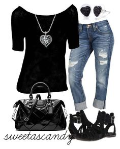 """Untitled #250"" by sweetlikecandycane ❤️ liked on Polyvore featuring True Religion, POL, Blowfish, Coach and SHIMLA"