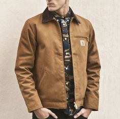 Style: Carhartt Wip - Detroit Jacket