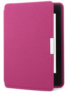Amazon Kindle Paperwhite Leather Cover, Fuchsia (does not fit Kindle or Kindle Touch) by Amazon, http://www.amazon.com/dp/B007R5YGO2/ref=cm_sw_r_pi_dp_VCtQqb0FF0V97