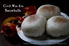 Civil War Era Apple Snowballs Recipe