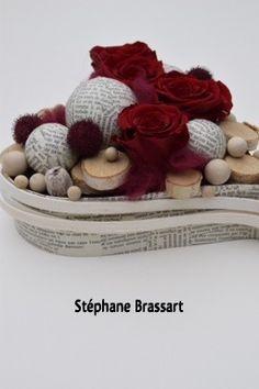 Design Stéphane Brassart Christmas Design, Christmas Projects, Flower Show, Flower Art, Dendrobium Orchids, Moss Garden, Floral Design, Art Floral, Funeral Flowers