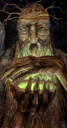Print Treebeard by zarjamenart on Etsy