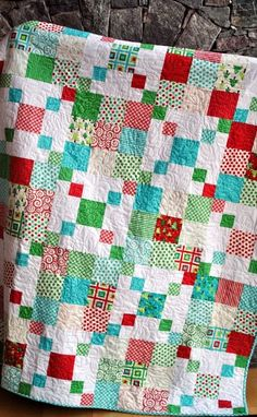 QUILT PATTERN Quick and Easy Layer Cake or Charm Pack by elise
