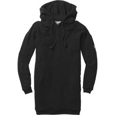 Keep yourself cozier than a pile of puppies with the long, soft, and loose-fitting Boxy Women's Pullover Hoodie from Nikita.
