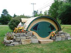 The Woodshire Playhouse-- Hobbit Hole Perfection